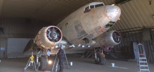 Classic Wings C-47: G-DAKK