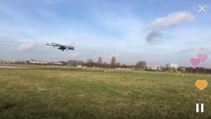 F16 landing irl27