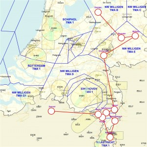 Battle Of Britain Memorial Flight Lancaster route